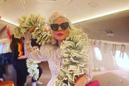 Lady Gaga er þekkt fyrir skemmtilegan og óvenjulegan fatastíl.