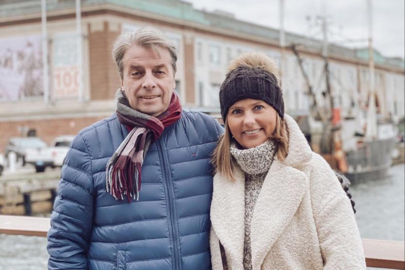 Úlfar Steindórsson og Jóna Ósk Pétursdóttir.