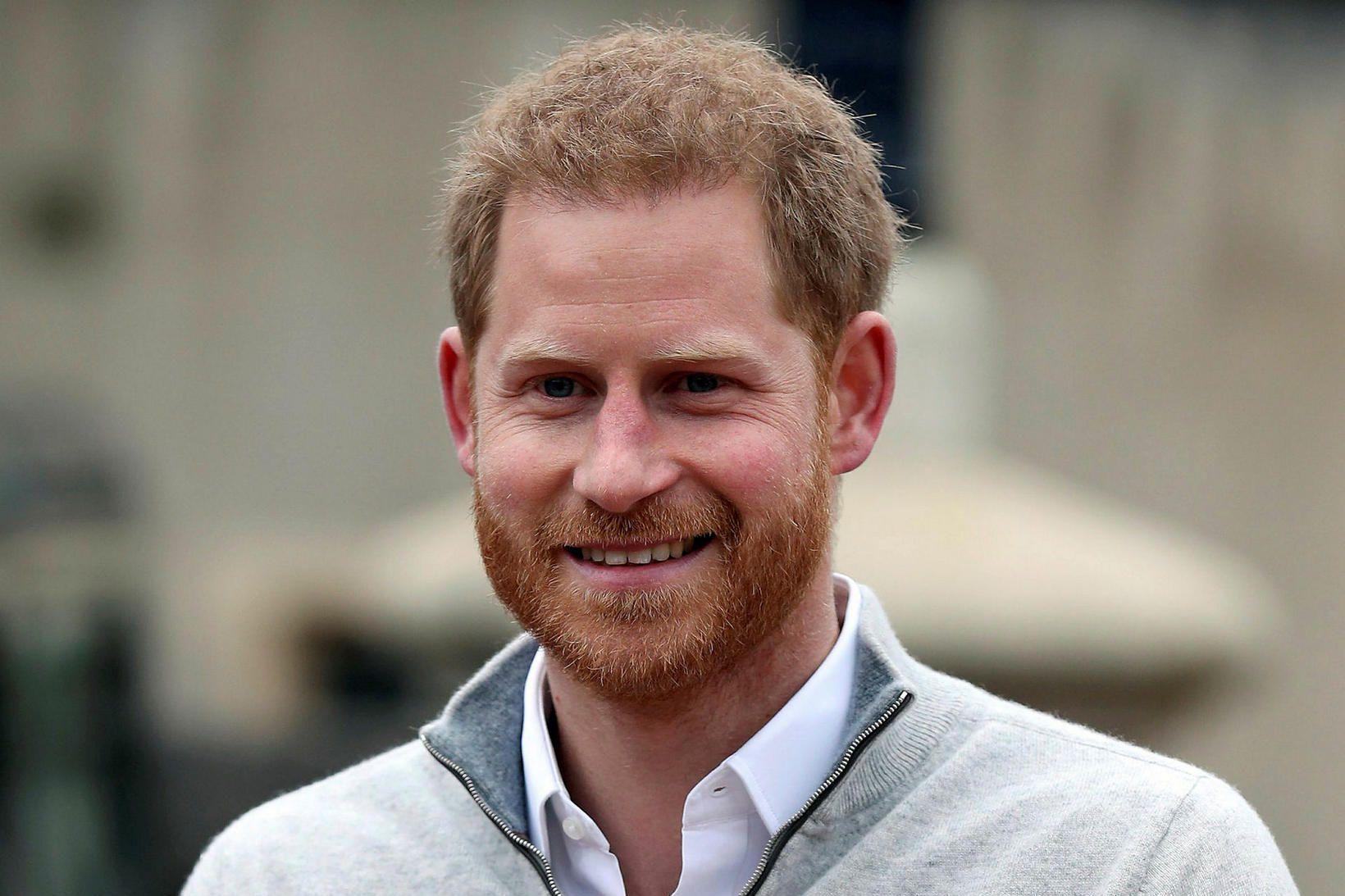 Harry Bretaprins, hertogi af Sussex og yngri sonur Karls Bretaprins …
