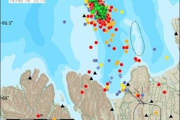 Earthquakes at Grímsey.
