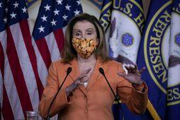 Nancy Pelosi á Bandaríkjaþingi.
