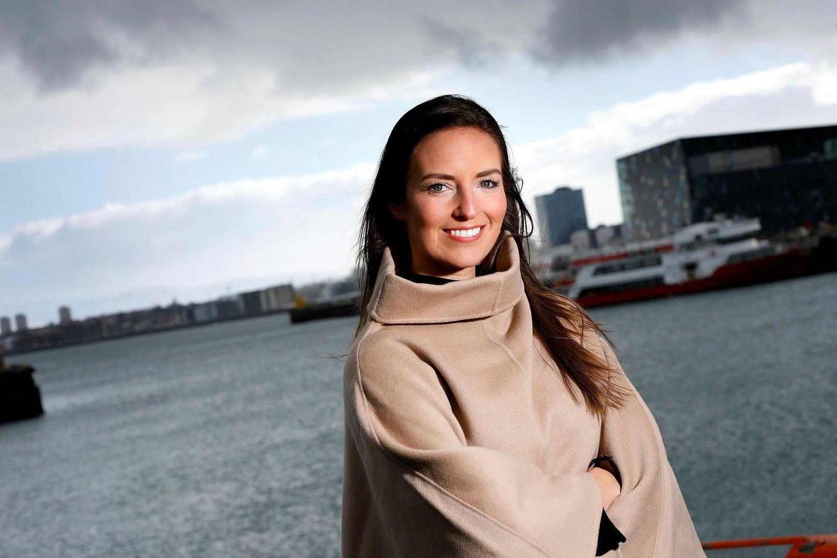 Agnes Guðmundsdótir markaðs- og sölustjóri Icelandic Asia.