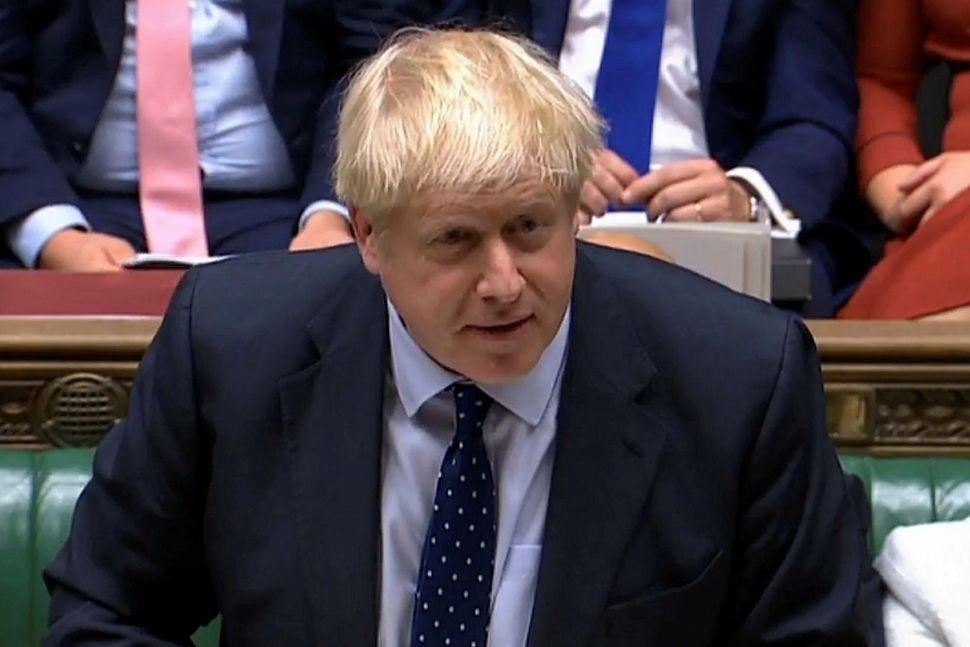 Boris Johnson forsætisráðherra hefur unnið hörðum höndum að því undanfarna ...