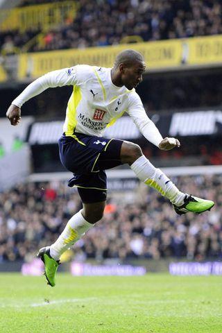 Jermain Defoe er í fremstu víglínu hjá Tottenham.