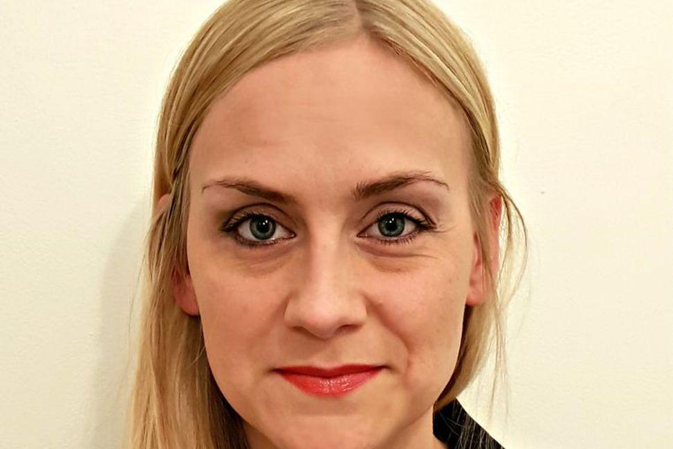 Kristín Lena Þorvaldsdóttir er nýr forstöðumaður Samskiptamiðstöðvar heyrnarlausra og heyrnarskertra.