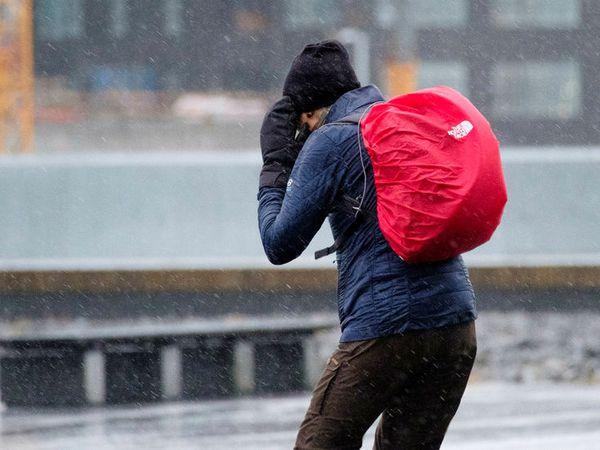 The weather will start to worsen at around 4 pm.