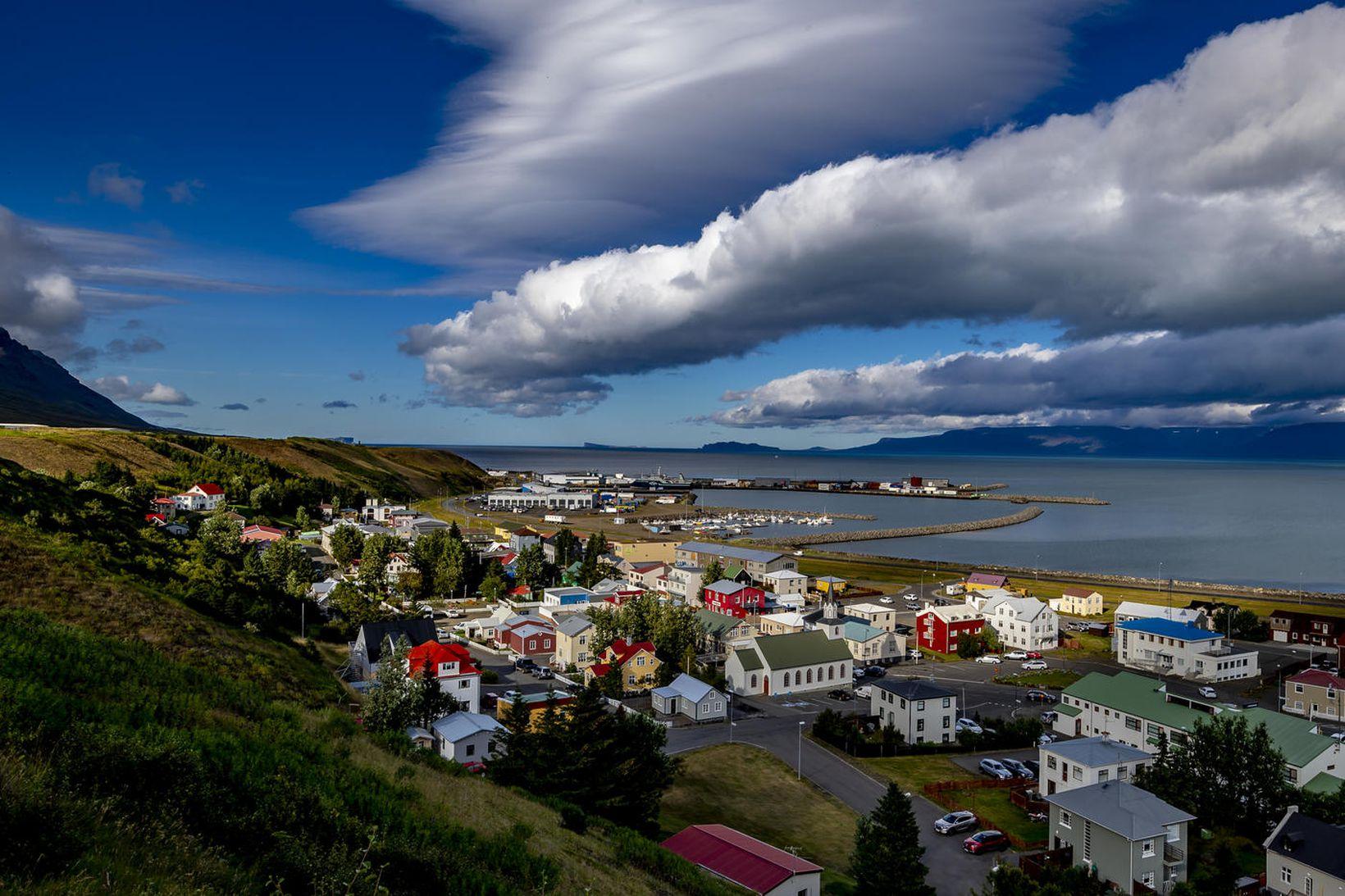 Mikil eftirspurn eftir lóðum á Sauðárkróki.
