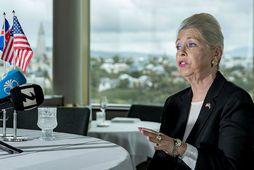 Michele Roosvevelt Edwards (áður Ballarin) tilkynnti um áform sín fyrir helgi. Fullyrt hefur verið að …