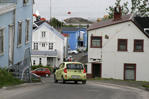Búðargil in Akureyri. A strange and annoying sound has been keeping people up at night.