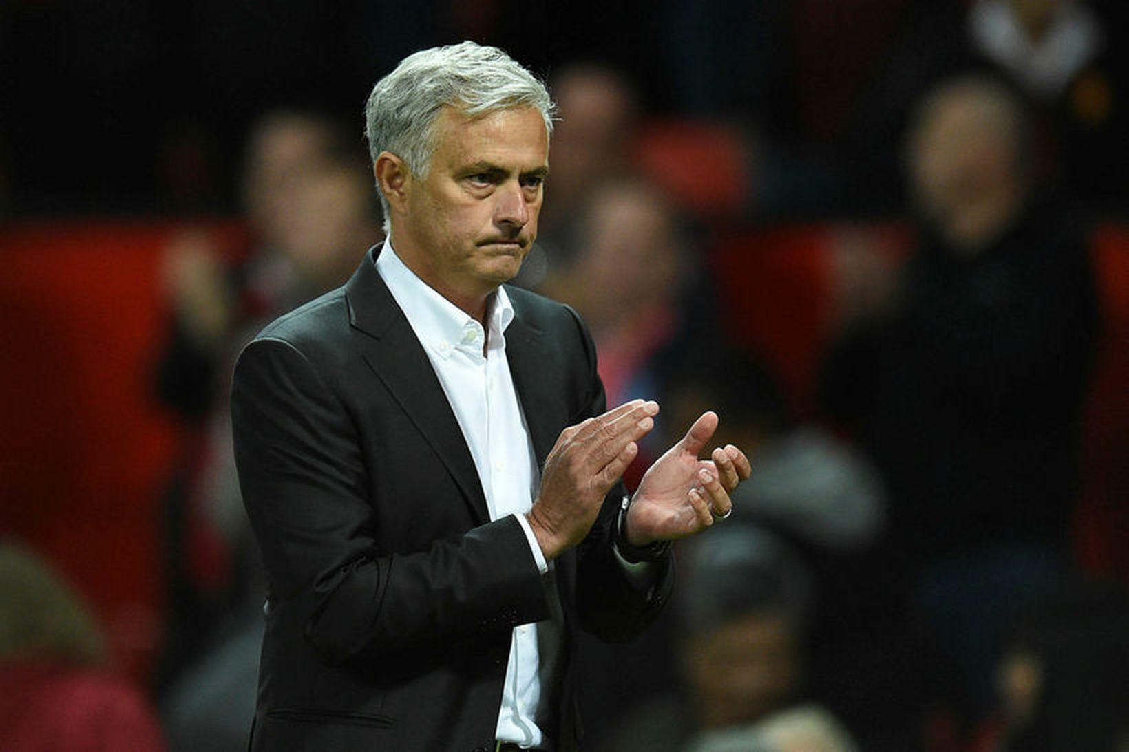 Jose Mourinho klappar í kvöld.