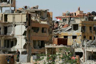 Frá bænum Douma.