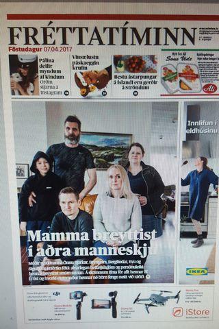 Ábyrgðarsjóður launa tryggir laun blaðamanna að hluta.
