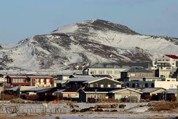 Skjálftinn varð um tvo kílómetra norðan við Grindavík.