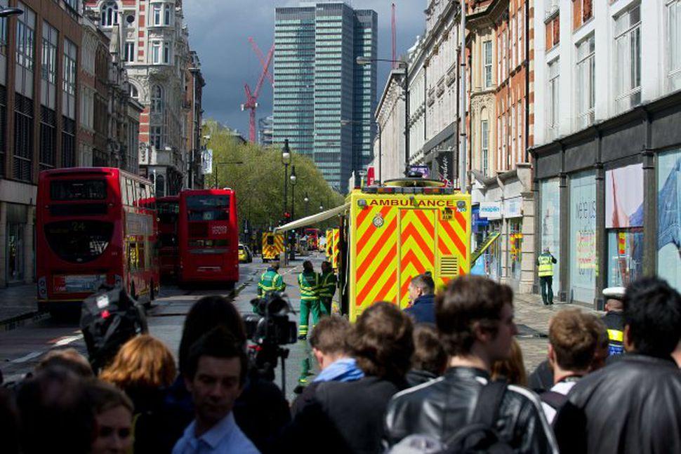 Frá Tottenham Court Road í dag