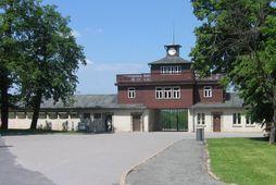 Útrýmingarbúðirnar í Buchenwald.
