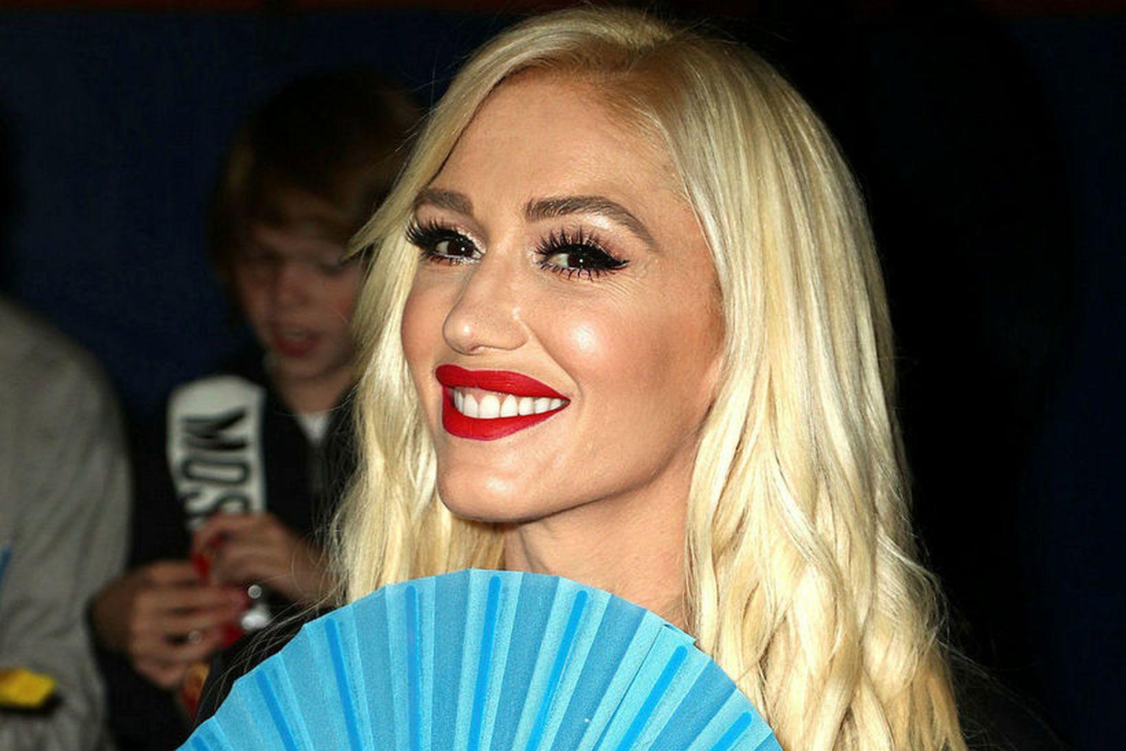 Gwen Stefani gifti sig um helgina.