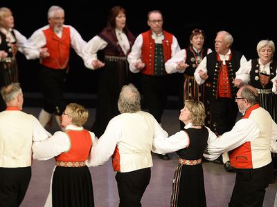 Strilaringen – Norwegian Traditional Folk Dance
