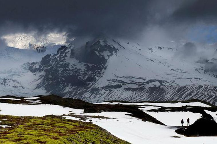 Öræfi in South East Iceland.