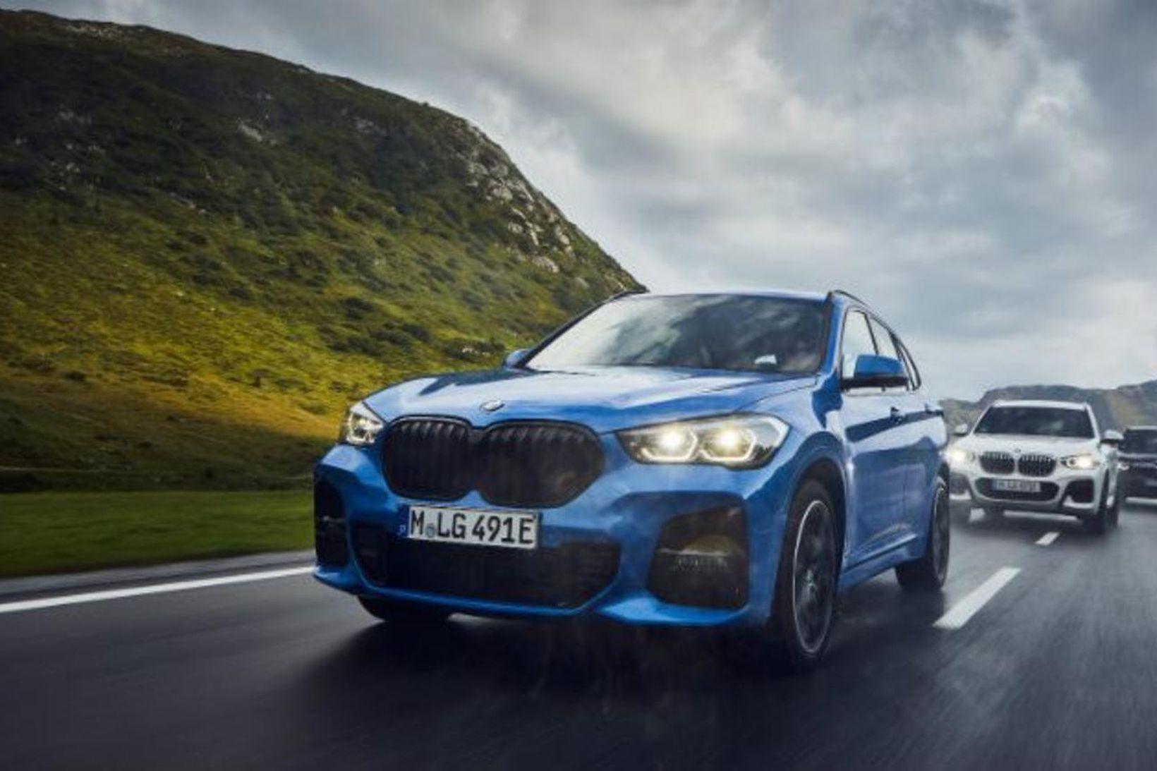 Tengiltvinnbíllinn BMW X1 phev