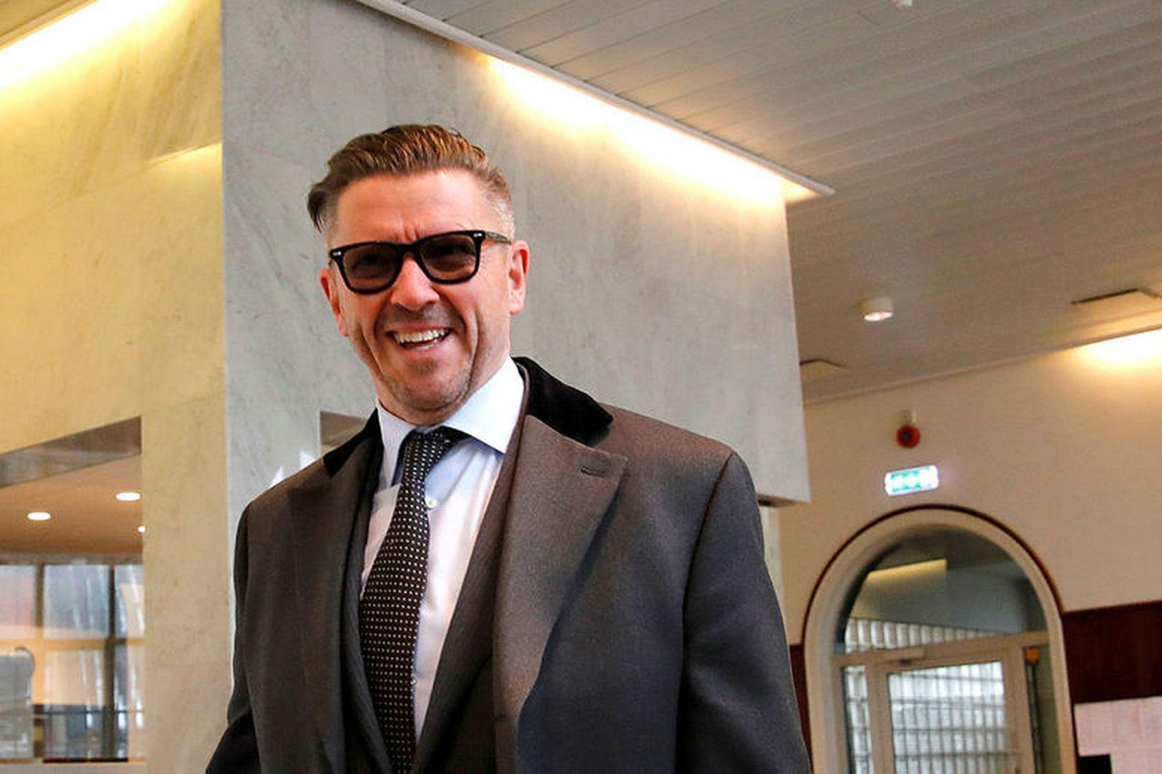 Sveinn Andri Sveinsson er lögmaður Sunshine Press. Hann býst við …
