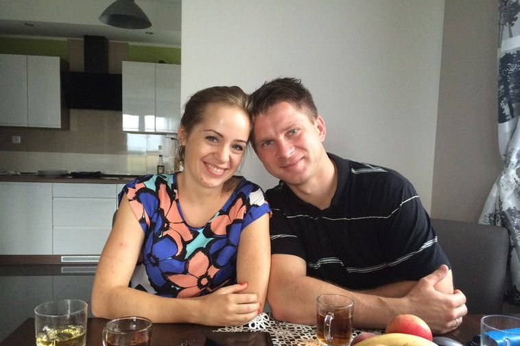 Agnieszka and Dawid Dawbrowski are now living back in Poland after spending five years in ...