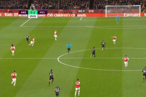 Arsenal átti ekki möguleika í meistarana (myndskeið)
