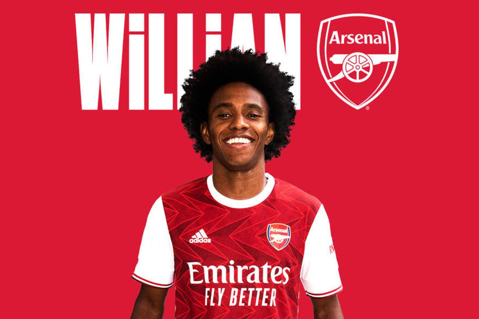 Willian er orðinn leikmaður Arsenal.