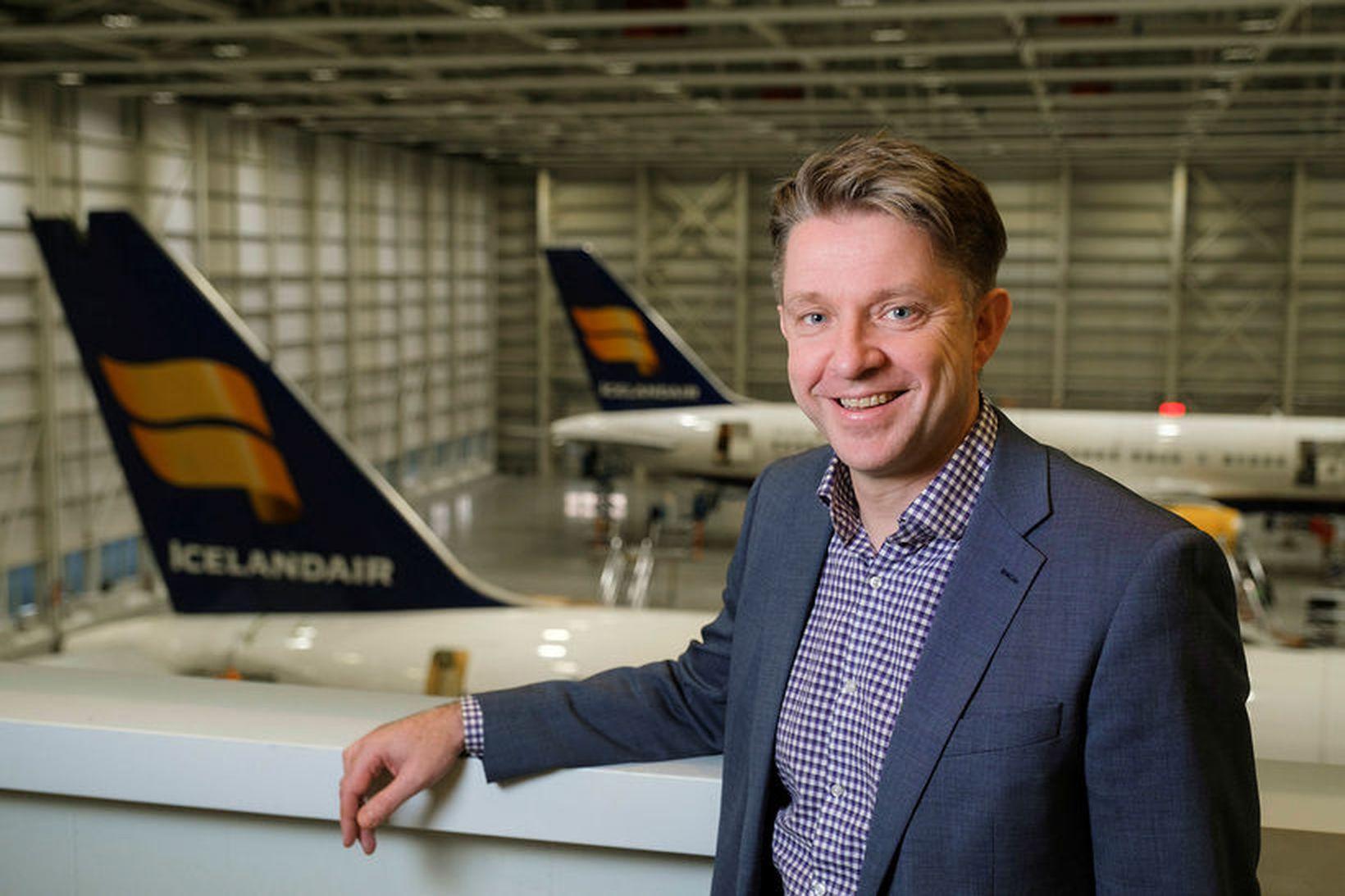 Bogi Nils Bogason tók við forstjórastöðunni hjá Icelandair Group fyrir …