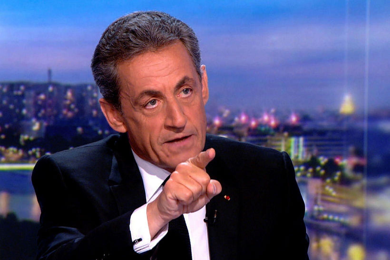 Nicolas Sarkozy, fyrrverandi Frakklandsforseti.