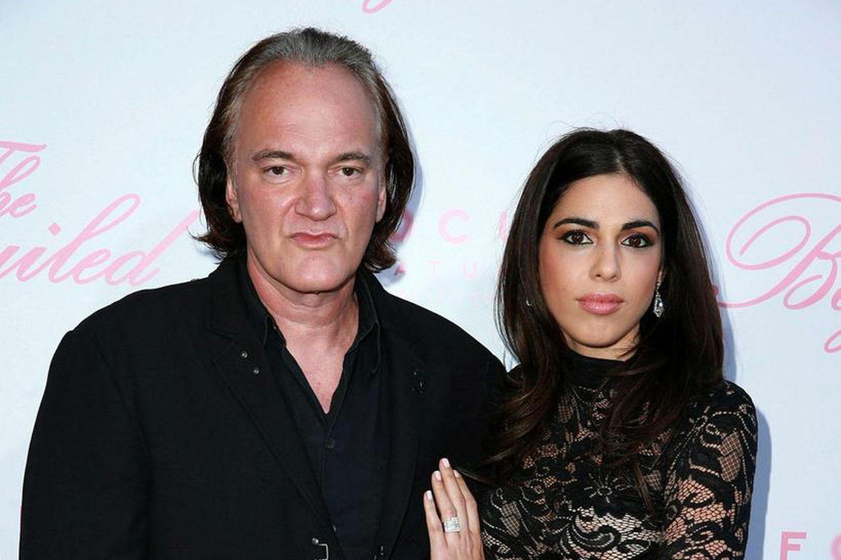 Quentin Tarantino og Daniella Pick.