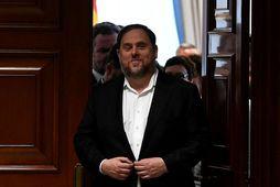 Fyrrverandi varaforseti Katalíníu, Oriol Junqueras, er einn leiðtoga Katalóníu sem Sameinuðu þjóðirnar fara fram á …