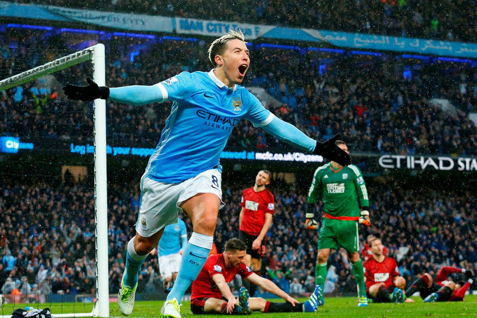 Samir Nasri spilaði meðal annars með Manchester City og Arsenal …