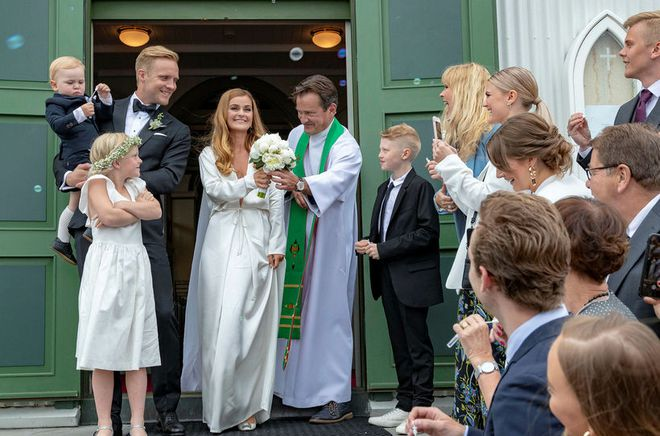 Brúðkaup Elísabetar og Gunnars
