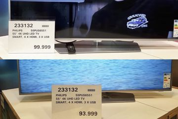 Costco has lowered the price of this TV by six thousand ISK since its opening.