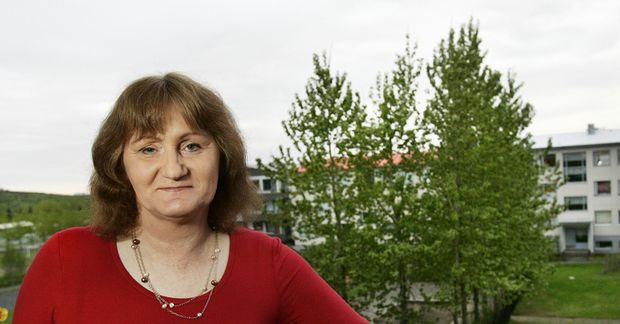 Anna Kristjánsdóttir segir farið að kólna á Tenerife.