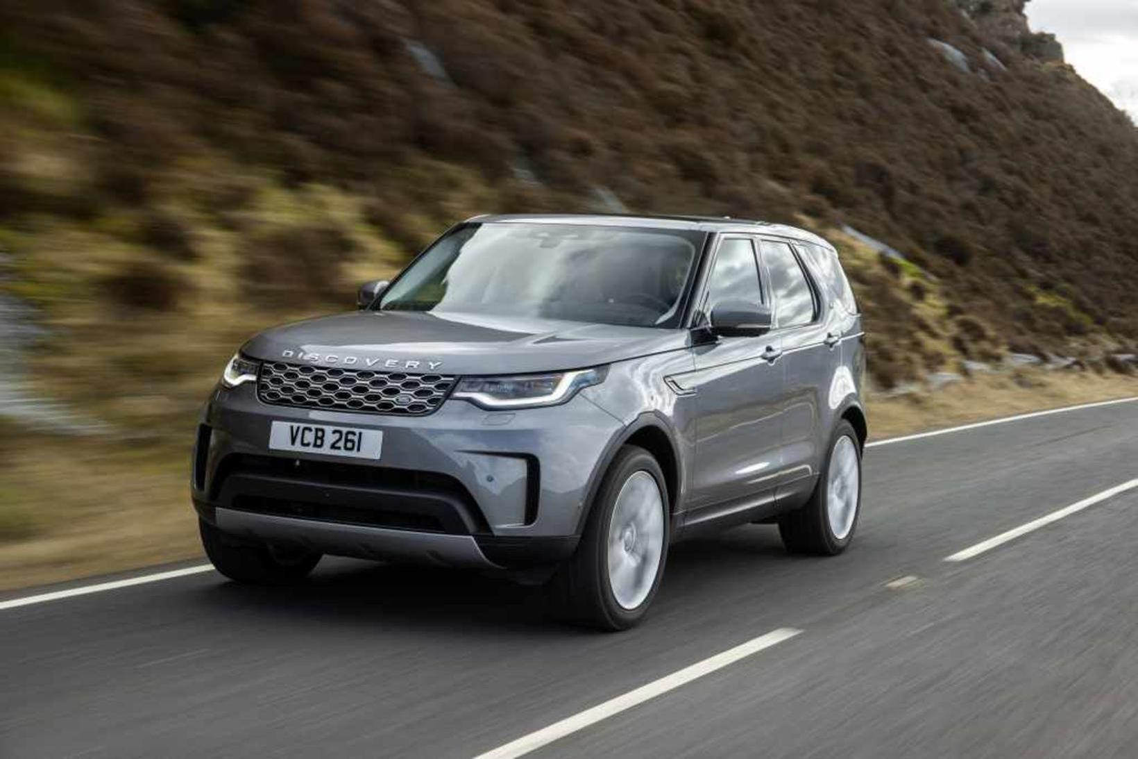 Breyttur Land Rover Discovery 5.