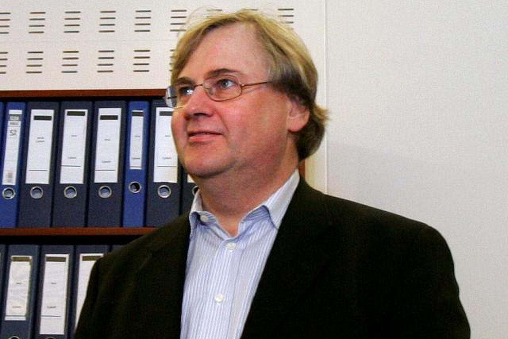 Tryggvi Jónsson.