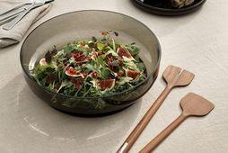 Ný salat áhöld og skál frá Stelton fyrir öll salötin í sumar.