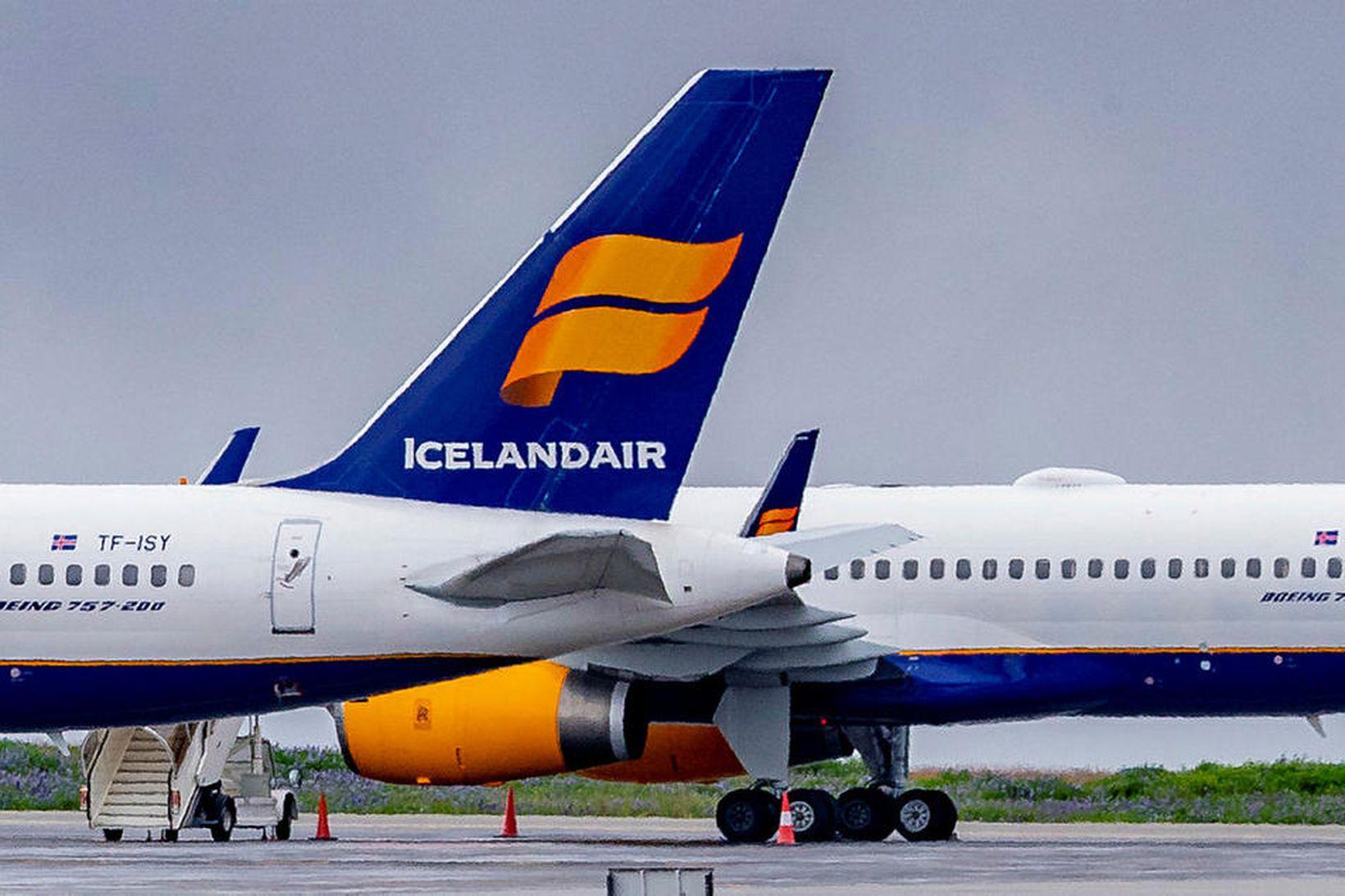 Hlutabréf Icelandair hafa sveiflast mikið síðan félagið fór í hlutafjárútboð …