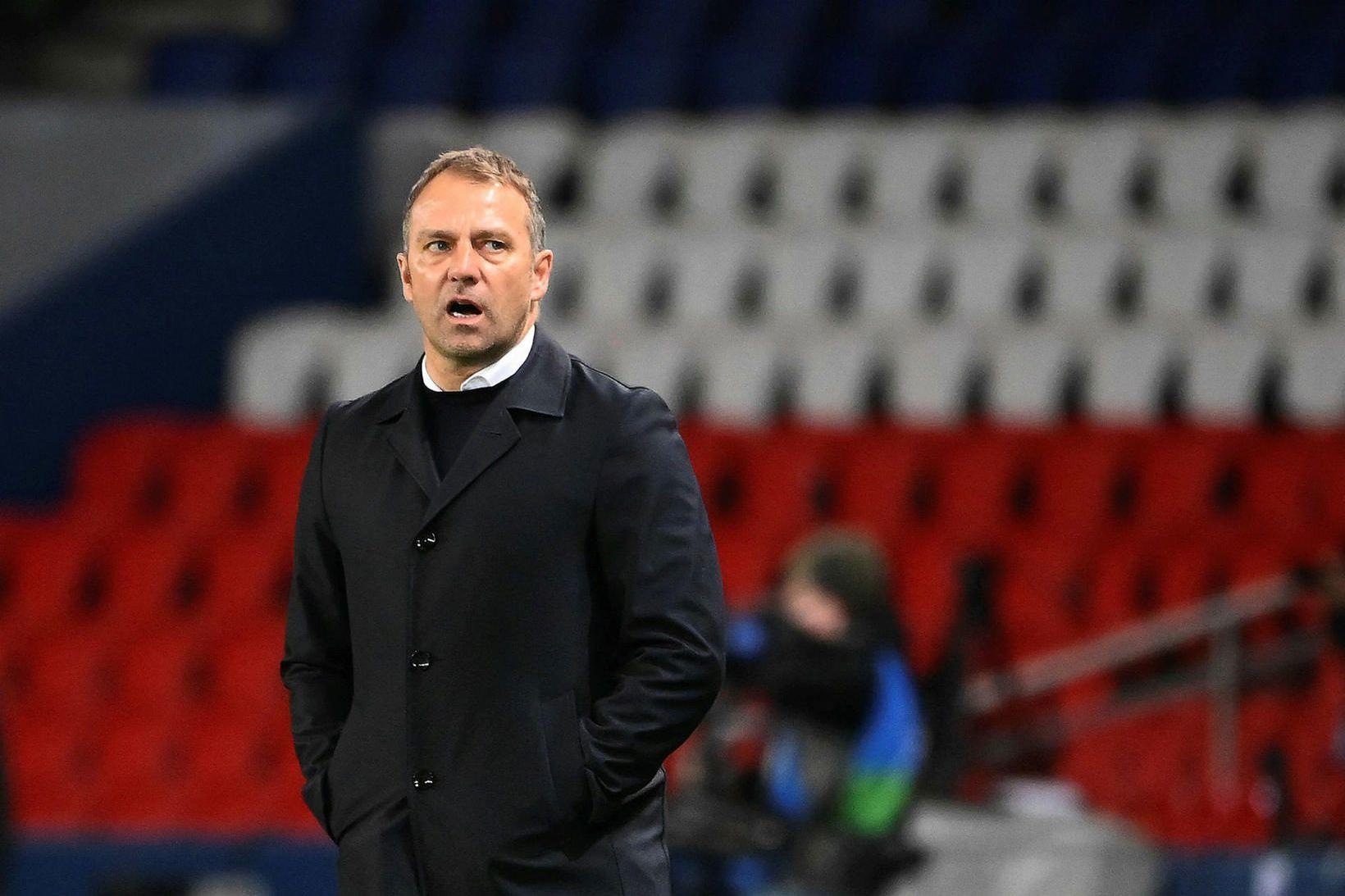 Hans-Dieter Flick tók við þjálfun Bayern München haustið 2019 af …