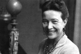 Simone de Beauvoir er þekkt fyrir heimspekilegar vangaveltur um hlutverk konunnar.