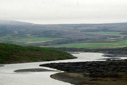 Hugmyndir eru uppi um 9,8 MW virkjun í Skjálfandafljóti í Bárðardal.