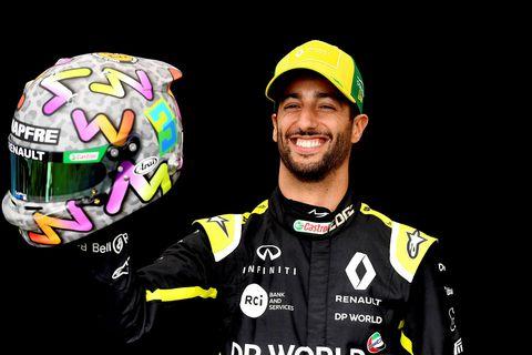 Daniel Ricciardo ekur fyrir McLaren 2021.