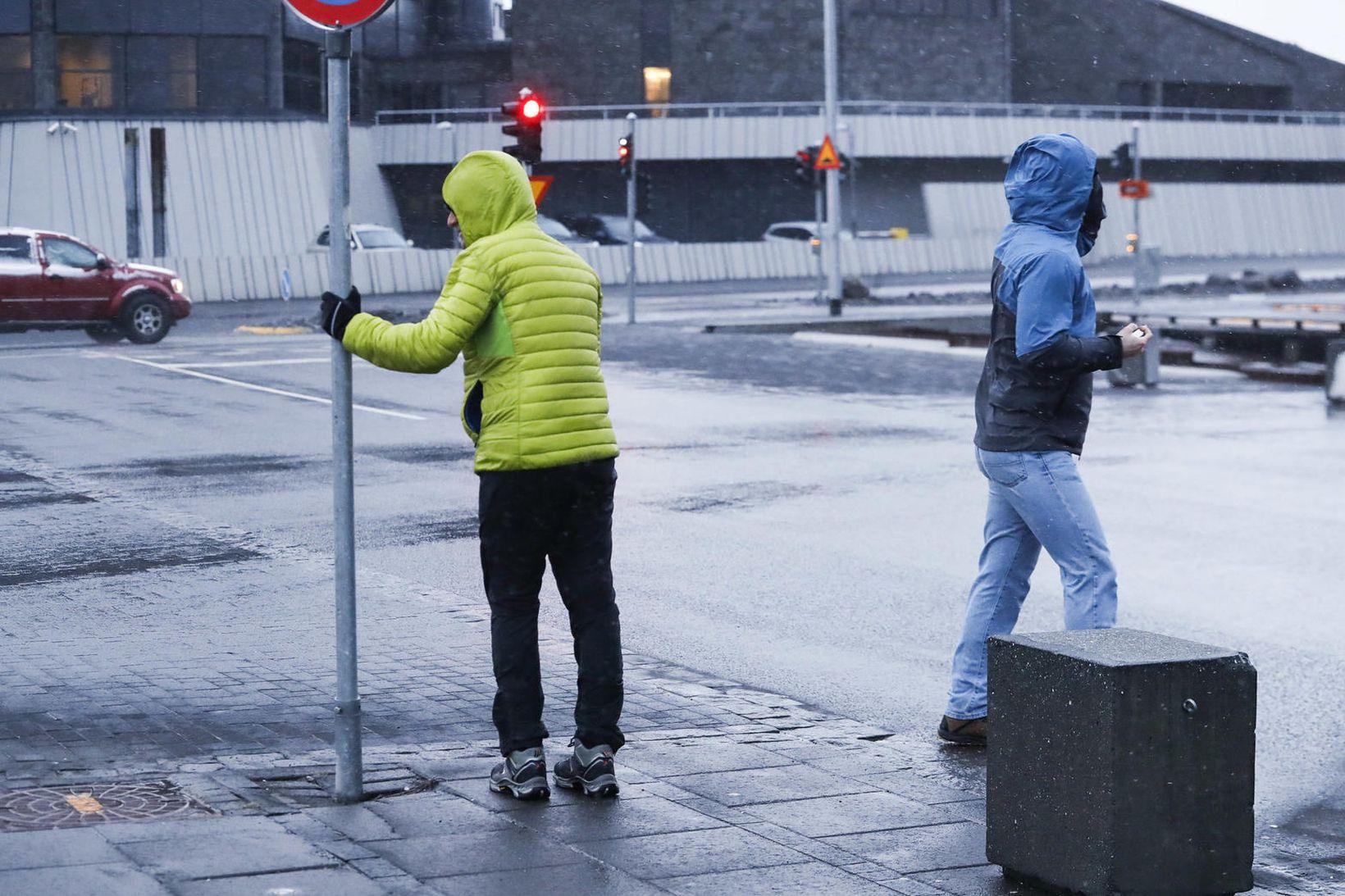Ferðamenn á landinu eru orðnir talsvert færri en áður.