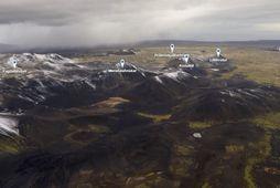 Á iceland360vr.com má skoða mögulegt gossvæði í miklum gæðum.