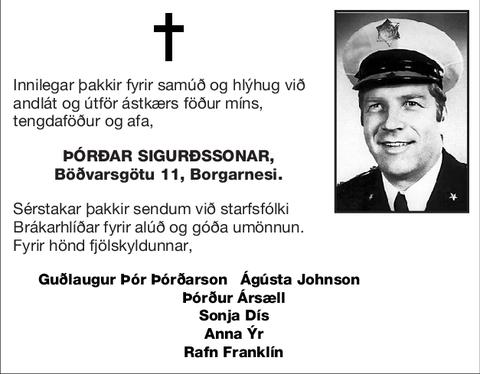 Þórðar Sigurðssonar,
