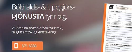Mynd af HSE Bókhald & Uppgjör slf