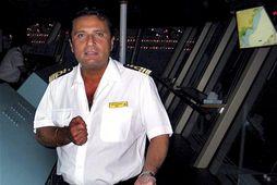 Francesco Schettino skipstjóri á Costa Concordia.