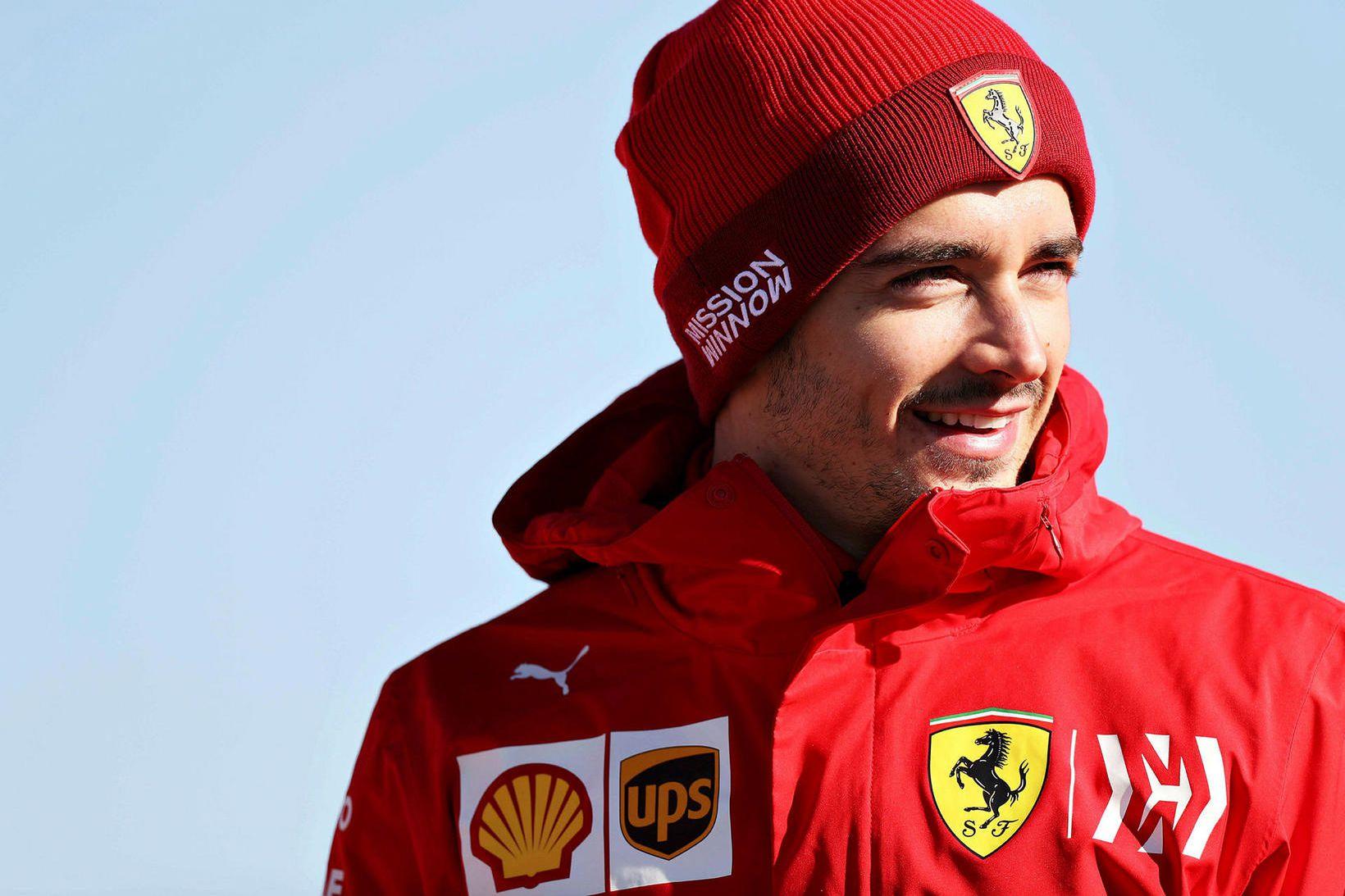 Charles Leclerc er bundinn Ferrari til langframa.