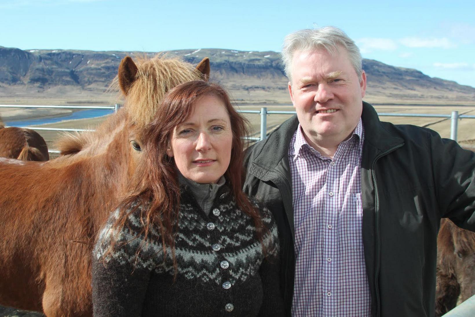 Ingibjörg Elsa Ingjaldsdóttir og Sigurður Ingi Jóhannesson.